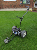 ClubRunner TS-1 Motorized Electric Golf Bag Cart Caddy /w Batter Hamilton Ontario Preview