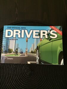 *Barely Used* Official MTO Drivers Handbook 2016