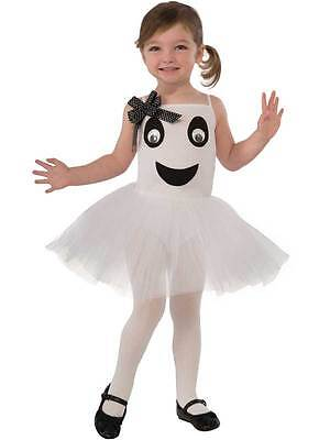 Toddler Bootiful Ballerina Ghost Tutu Costume Child Halloween Fancy Dress Outfit - Toddler Ghost Halloween Costumes