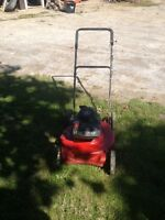 Craftsman  Push lawn mower 3.5 hp