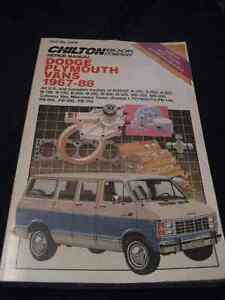 Dodge Chilton Repair Manual 67-88
