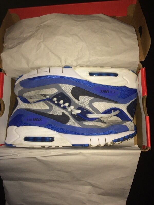 pmwqe NIKE AIR MAX 90 \'BREATHE\' WITH BOX GREAT CONDITION | in Blackhall