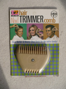 LIFE TIME HAIR TRIMMER COMB ( VINTAGE U.S.A. )