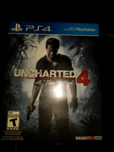 Uncharted 4 :  A theifs end PS4