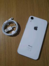 iPhone XR White 64gb Unlocked New Premium Battery 12 Months Warranty