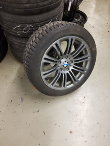 "17"" set of 4 rims (Note they are NOT BMW rims) Sold As Is"