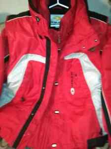 Ski or snowboard jacket XL with extra vest