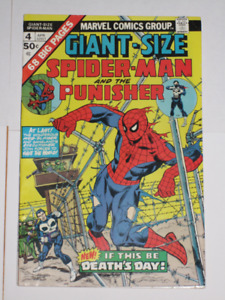 Giant-Size Spider-Man#4 Punisher! comic book