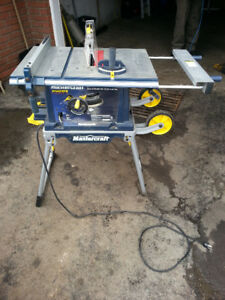 Mastercraft table saw buy or sell tools in ontario kijiji mastercraft portable table saw keyboard keysfo Images