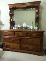 Salon Sale : Dressing Table, Dryer Chair, Cabinets, Sofa, Lamp