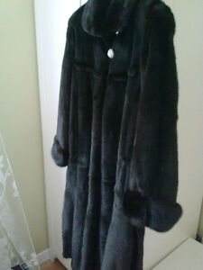Black Mink Coat Gatineau Ottawa / Gatineau Area image 2