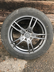 Envy Car Rims with Used Tires