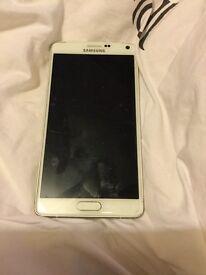 Samsung galaxy note 4 white 32g