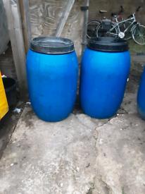 205 litre 45 gallon screwtoplid barrels