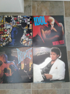 1970's to 1980's record albums