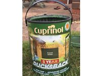 Cuprinol Forest Green Ducksback Shed & Fence Paint