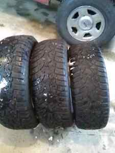 245/65/17 studed tires