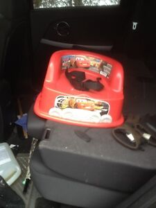 2 CARS BOOSTER SEATS/BABY/TODDLER