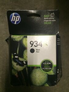 Hp 934xl black cartridge (new)