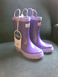 Brand new with tags size 11 girls hatley rain boots