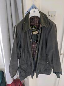 Barbour Bedale Wax Jacket Blue 42