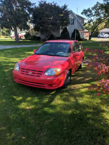 2004 manual Hyundai Accent