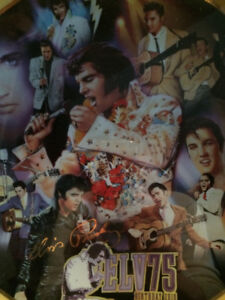 Elvis 75th Anniversary Collector Plate