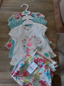Baby & Toddler Clothing Lot Of Baby Twins Matching Outfits Tagis And Baby Gap 3-6 Months Girls' Clothing (newborn-5t)