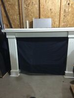 Pine Fireplace Mantel and Surround