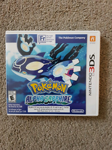 Pokemon Alpha Sapphire for the Nintendo 3ds