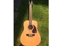 Epiphone 12 string acoustic plug in
