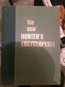 Antique hunting book