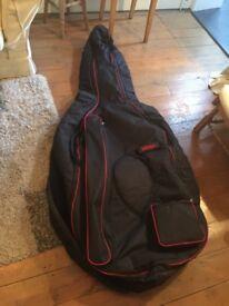 Double bass gig bag