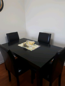 !!!! 1 YEAR OLD TABLE SET & COUCH SET MOVING SALE !!!!