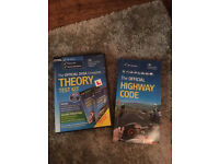 Theory test DVD & Highway Code book