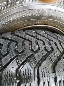 185/65/14  Winter Tires  Goodyear with Rims