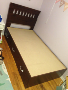 3--drawer Twin size bed
