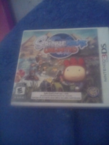 Scribblenauts unlimited and Lego Star wars III The clone wars