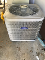 Used Carrier 2.5 Ton Air conditionier barly used