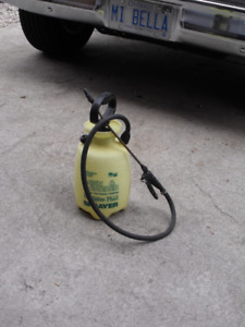 Sprayer for what ever you want-weeds-spiders-fertilizer.