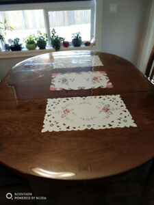Solid wood dining table only $150