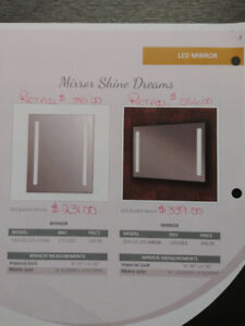 LED MIRRORS BLOWOUT PRICES GREAT CHRISTMAS GIFTS