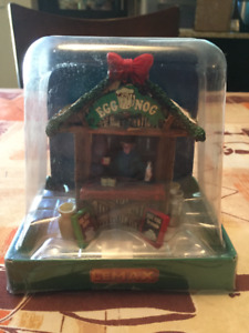 CHRISTMAS VILLAGE EGGNOG STAND ACCENT