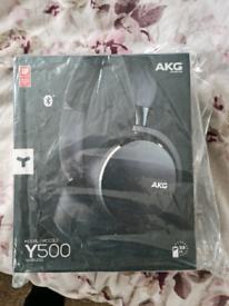 AKG Y500 BLUETOOTH WIRELESS HEADPHONES BRAND NEW GENUINE - SAMSUNG