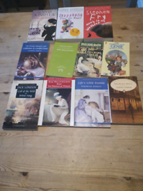 Selection of books all £1 each