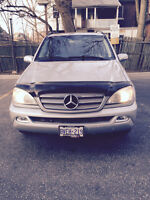 2004 Mercedes-Benz M-Class ML350 V6 SUV, Crossover