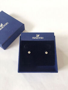Swarovski Earrings and Charm (never been worn