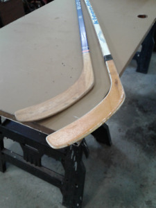 Batons de hockey