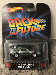 Hot Wheels - Back To The Future - Time Machine Mr. Fusion