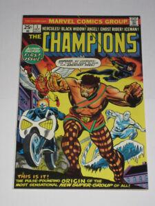 Marvel Comics Champions#1 1st appearance! comic book